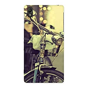 Enticing Bycycle Vintage Back Case Cover for Sony Xperia Z2