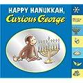 Happy Hanukkah, Curious George tabbed board book
