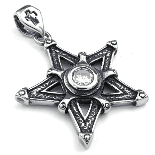 amdxd-jewelry-stainless-steel-men-vintage-punk-pendant-necklace-18-inch-chain-link