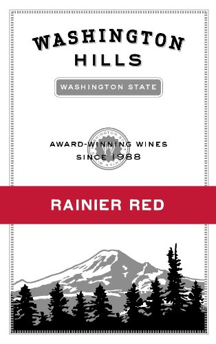 Nv Washington Hills Rainier Red Washington 750 Ml