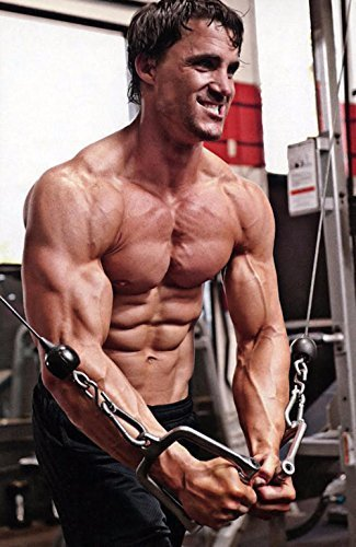 "Greg Plitt Fabric Cloth Rolled Wall Poster Print -- Size: (36"" x 24"" / 20"" x 13"") by NewBrightBase [並行輸入品]"