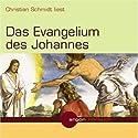 Das Evangelium des Johannes Hörbuch von  N.N. Gesprochen von: Christian Schmidt