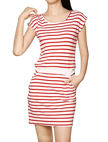 Allegra-K-Women-Round-Neck-Sleeveless-Stripes-Unlined-Casual-Dresses