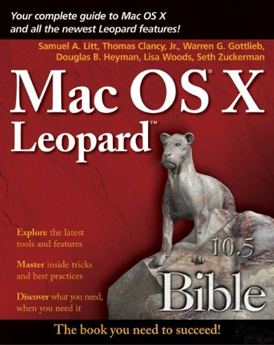 Mac OS X Leopard Bible