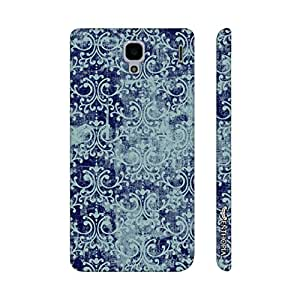 Xiaomi Red Mi 1s THE BLUE INDIAN ART designer mobile hard shell case by Enthopia
