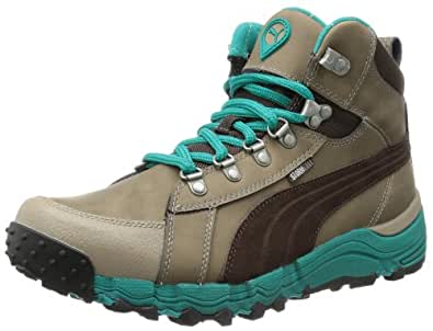 Puma Sarek Mid WP Wn's 304606, Damen Trekking- & Wanderschuhe, Braun (fossil-black coffee-blue 03), EU 36 (UK 3.5) (US 6)