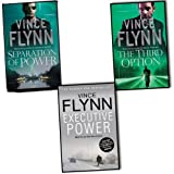 Vince Flynn Vince Flynn Mitch Rapp 3 Books Collection Pack Set RRP: £20.97 (Separation of Power, The Third Option, Executive Power)
