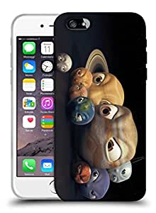 Snoogg Angry Planets Designer Protective Back Case Cover For IPHONE 6 PLUS