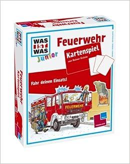 was ist was junior kartenspiel feuerwehr b cher. Black Bedroom Furniture Sets. Home Design Ideas