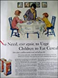 img - for 1927 Original AD Puffed Rice Cereal with Jessie Wilcox Smith illustration book / textbook / text book