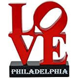 JFK Plaza Philly LOVE Art Sculpture Miniature Die Cast Replica Pencil Sharpener