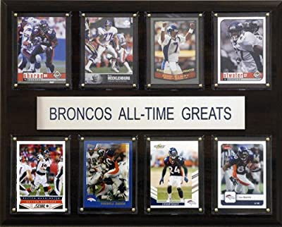 NFL Denver Broncos All-Time Greats Plaque