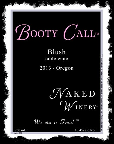 2013 Naked Winery Booty Call Blush 750 Ml
