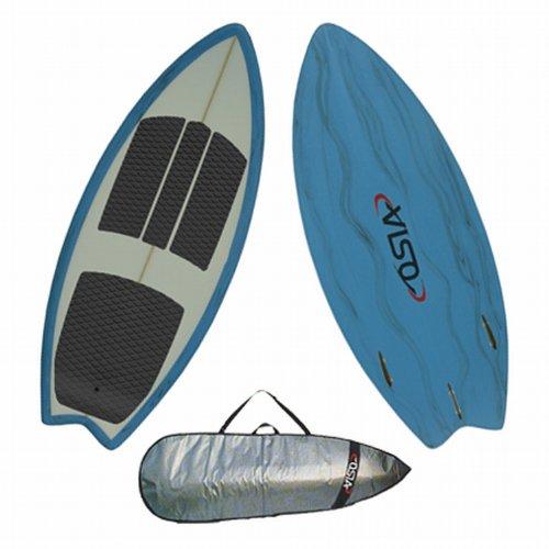 Osia Pro Wake Surfboard Package - 4' 6