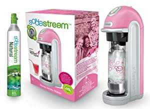 sodastream 1018111495 wassersprudler fizz pink mit fizzchip inklusive 1x alu zylinder 60 l 1x. Black Bedroom Furniture Sets. Home Design Ideas