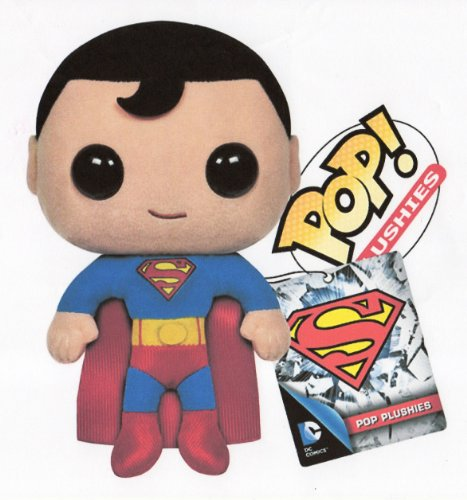 "Funko SUPERMAN POP 7"" PLUSH FIGURE - NEW VERSION - Mint in Bag - 1"