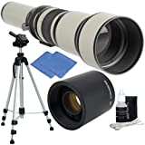 650-2600mm High Definition Telephoto Zoom Lens with 59