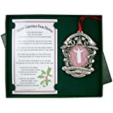 Merry Christmas from Heaven Remembrance Picture Keepsake Ornament with Poem in Gift Box
