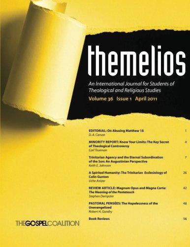 Themelios, Volume 36, Issue 1