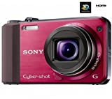 SONY Compact camera Cyber-shot DSC-HX7V 3D – red (DSC-HX7VR) Picture