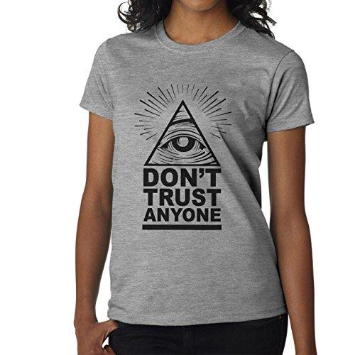 Dont-Trust-Anyone-Illuminati-Eye-Damen-T-Shirt