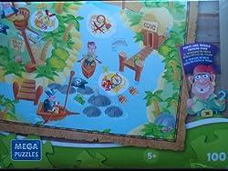 MEGA Puzzle: Pirate Lens Reveals Treasure Clues, 100 Pieces