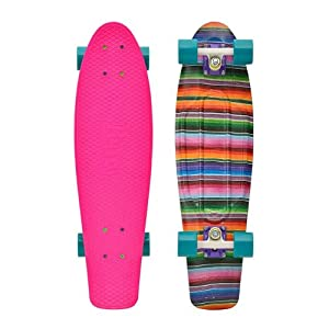 Buy Penny Nickel Graphic Complete Skateboard, Baja Pink, 27-Inch by Penny