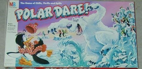 Polar Dare! The Game of Chills, Thrills and Spills - Buy Polar Dare! The Game of Chills, Thrills and Spills - Purchase Polar Dare! The Game of Chills, Thrills and Spills (Milton Bradley, Toys & Games,Categories,Games,Board Games,Adventure & Story Games)