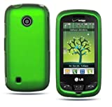 Metalic Green Rubber Touch Snap-on 2pcs Phone Protector Hard Cover Case for ....