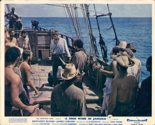 High Wind In Jamaica James Coburn Draws Knife On Deck