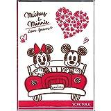 デルフィーノ2015年手帳 Disney ラブラブミッキー&ミニー ドライブ 【2014年9月始まり】 ホワイト B6サイズ DZ-76233