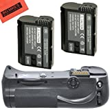 Battery Grip Kit for Nikon D600 D610 Digital SLR Camera Includes Qty 2 Replacement EN-EL15 Batteries + Vertical Battery Grip + More!!