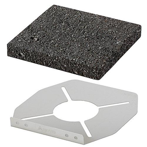ソト レギュレーターストーブ専用溶岩石プレート