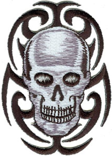 Application Tribal Skull Patch