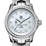 Air Force Women's TAG Heuer Link with Diamond Bezel