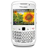 BlackBerry Curve 8520 - Smartphone - GSM - full keyboard - BlackBerry OS - White