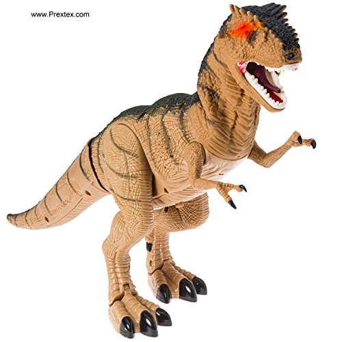 Prextex-Battery-Powered-Walking-Dinosaur-Toy-That-Roars-And-Shakes-While-Eyes-Are-Blinking