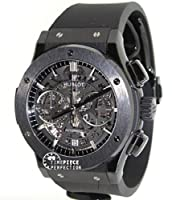 Hublot Classic Fusion Aero Chronograph Black Magic Men's Watch - 525.CM.0170.RX by Hublot