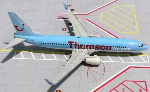 1: 200 ジェミニジェット Thomsonfly.com ボーイング 737-800W (並行輸入)