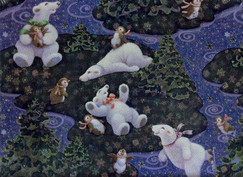 Joyeux Conpagnons Merry Good Friends 500 Pieces Jigsaw Puzzle by Hallmark