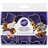 Wilton Mini Noah's Ark Metal Cookie Cutters