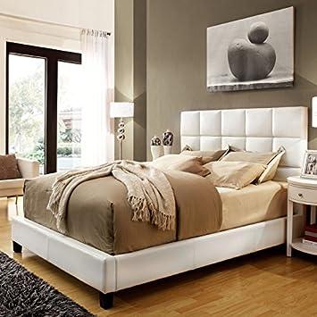 Amara Linen Upholstered Platform Bed
