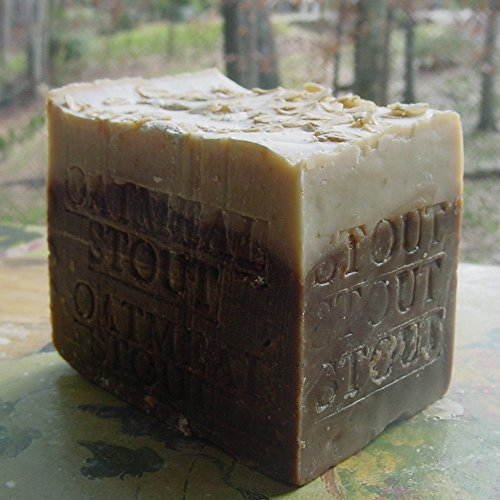Limited Aged Bar - Stout Beer Handmade Soap (Oatmeal And Stout) With Stout Butter Made With Guinness Extra Stout 12 Oz Bar