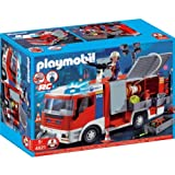 Playmobil 4821 Fire Engine with accompanying Storage Bag [Toy]