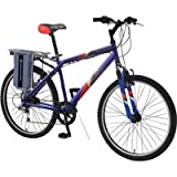 E-Zip Mountain Trailz Electric Bicycle, Model# EZ-MT8-BL