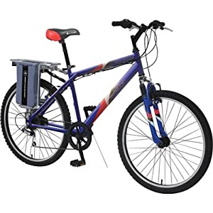 E-Zip Mountain Trailz Electric Bicycle, Model# EZ-MT8-BL