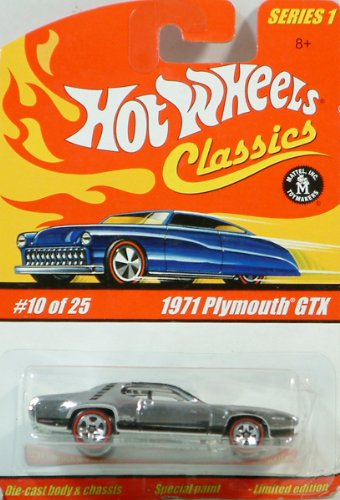 Hot Wheels Classics 1971 Plymouth GTX #10 of 25 - 1