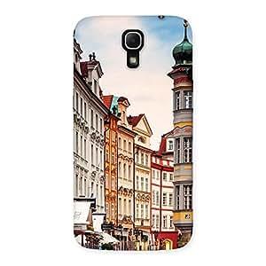 Special Prague Street Multicolor Print Back Case Cover for Galaxy Mega 6.3
