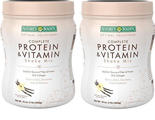 natures-bounty-protein-vitamin-shake-mix-vanilla-bean-16-ounce-pack-of-2