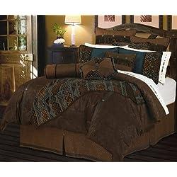 HiEnd Accents Del Rio Comforter Set, Super King
